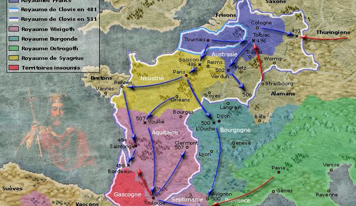 royaume franc clovis 481-511