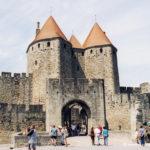 Cité de Carcassonne - La porte Narbonnaise
