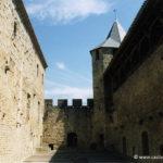 Cité de Carcassonne - La cour du midi du chateau