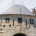 Cité de Carcassonne - La porte du chateau comtal