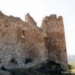 Chateau de Couzan - Rempart ouest