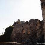 Chateau de Couzan - L'entrée