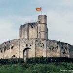 Chateau de Gisors - Le donjon et sa chemise