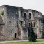 Chateau de Gisors - Corps de garde et accès au chemin de ronde de l'enceinte basse