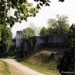 Chateau de Gisors - Enceinte basse nord