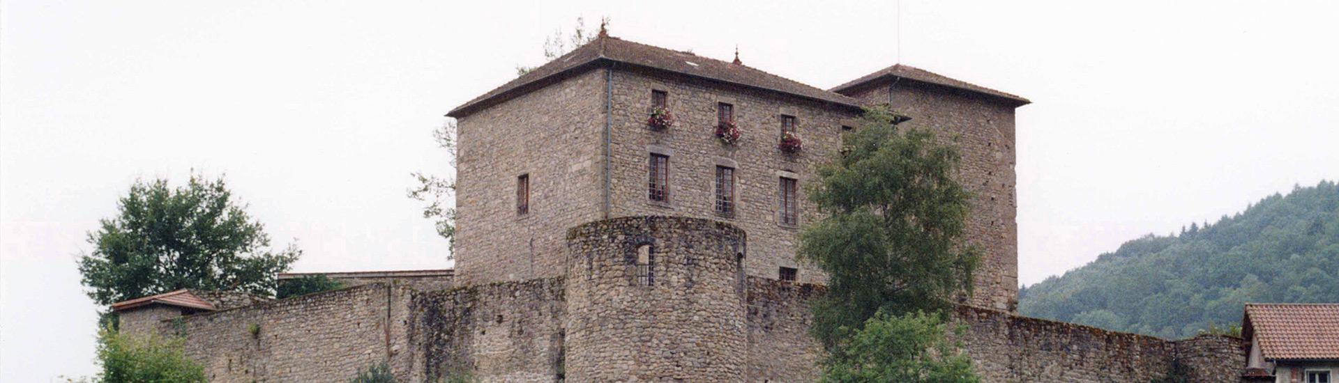Château d'Olliergues